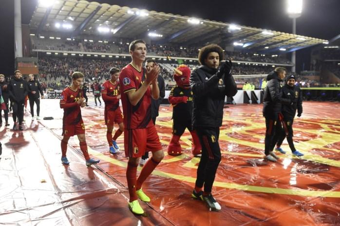 """Hans Vanaken blikt terug op geslaagde interlandbreak: """"Het is bij de Rode Duivels gewoon heel makkelijk voetballen"""""""