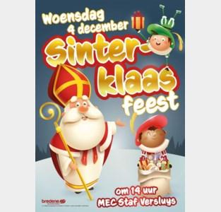 Grote Sinterklaassghow in Staf Versluyscentrum