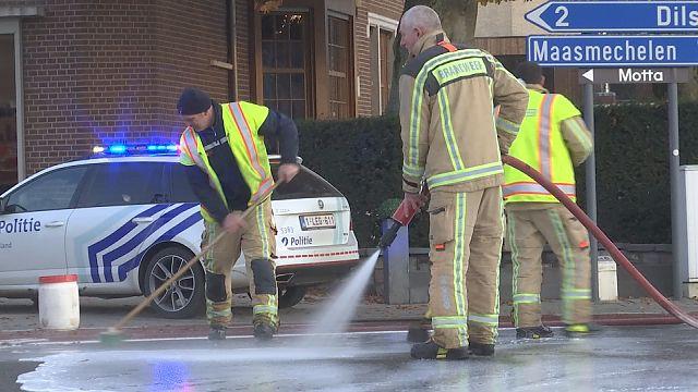 VIDEO. Ongeval op Rijksweg Dilsen-Stokkem veroorzaakt heel wat file