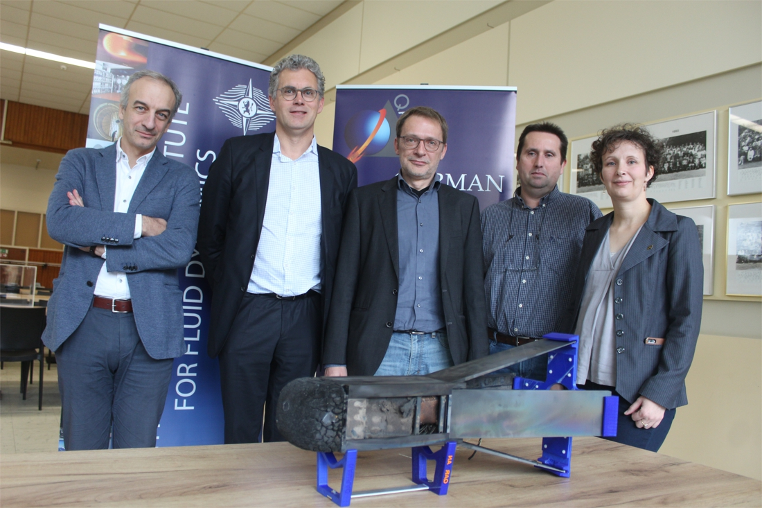 Piepkleine Vlaamse satelliet zal crashen, maar dat is alleen maar hoopgevend nieuws