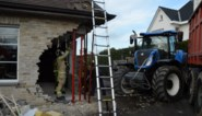 """Trouwfeest dreigt in het water te vallen door tractor die zich in gevel restaurant boort: """"Dit is een ramp"""""""