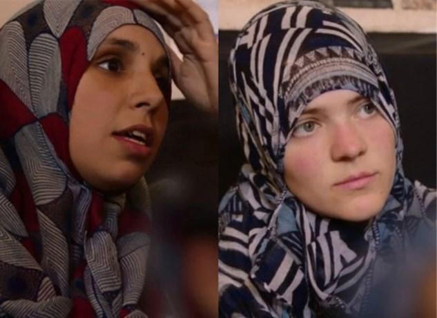 Twee Belgische IS-weduwen geven zich aan bij Turkse politie