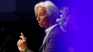 Lagarde roept overheden op om méér te investeren