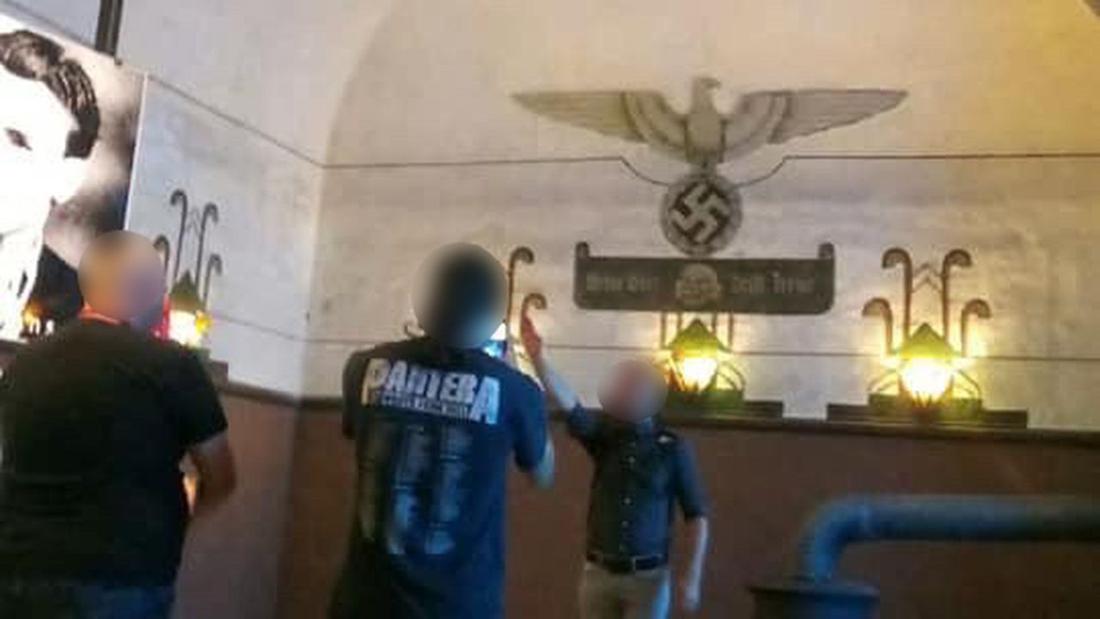 Lid van extreemrechtse groepering brengt Hitlergroet in Fort van Breendonk, parket start onderzoek naar aanzetten tot haat