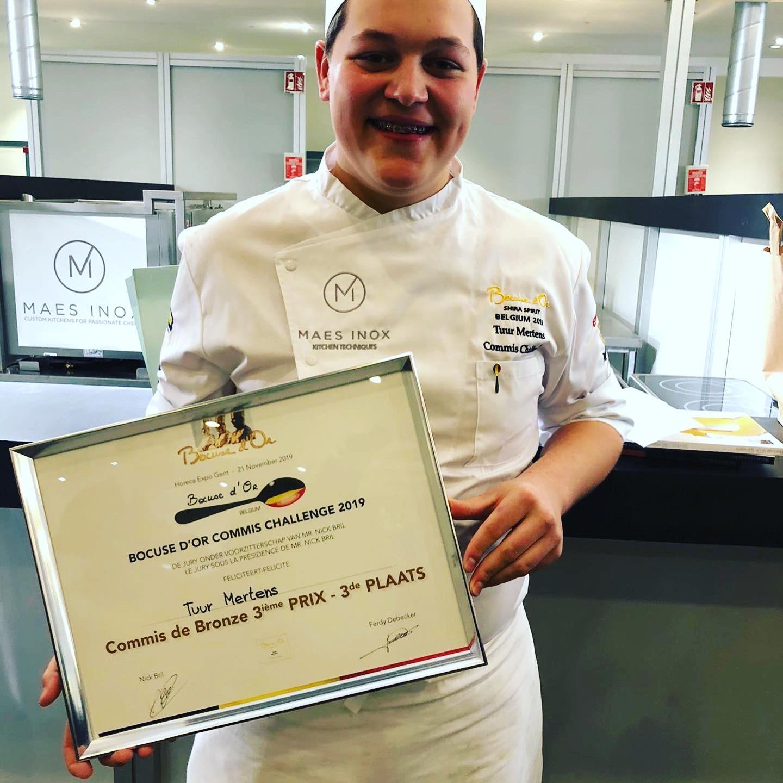 Jong Kempens talent haalt brons op prestigieuze kookwedstrijd