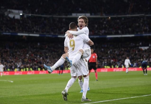 Luka Modric loodst Real Madrid met doelpunt en twee assists voorbij Real Sociedad