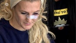 """Ex valt kooivechtster Cindy Dandois aan: """"Hij kon niet verkroppen dat we uit elkaar zijn"""""""