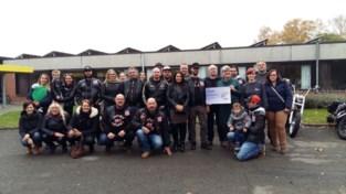 Motorclub organiseerde drie ritten voor het goede doel