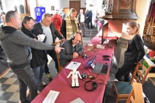 Optische illusies, Turingtest en radiocommunicatie in Bogaarden
