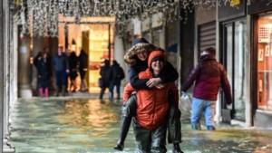 Venetië staat opnieuw onder water