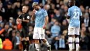 Manchester City-goalgetter Sergio Agüero is enkele weken buiten strijd