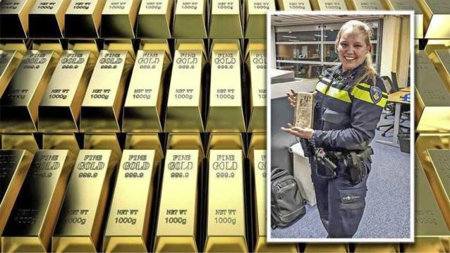 Jonge moeder krijgt 25.000 euro voor terugbrengen verloren goudstaaf