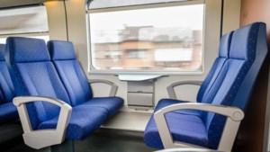 Treinzitje is 75% van reistijd leeg