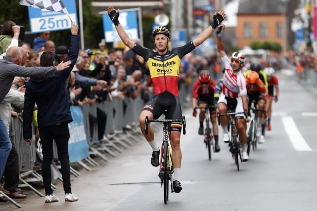 Patrick Lefevere grijpt naast Tim Merlier, Belgisch kampioen blijft Corendon-Circus trouw