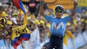 Nairo Quintana via de Ardennen opnieuw richting de Tour de France