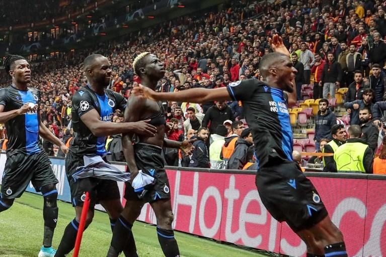 Club Brugge sleept in extremis punt uit de brand tegen Galatasaray, Mata en Diatta krijgen rood in bizar slot
