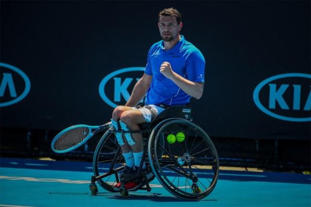 Belgische rolstoeltennisser Joachim Gérard wint prestigieuze Masters voor de vierde keer in vijf jaar