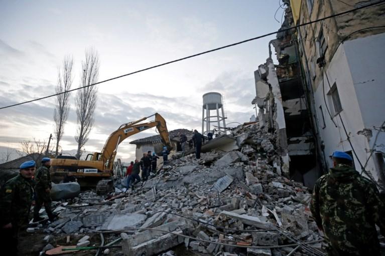 Minstens zes doden en honderden gewonden bij zware aardbeving in Albanië
