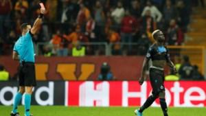 Twee keer rood voor Club Brugge wegens te heftig vieren
