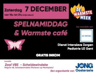Spelnamiddag en Warmste Café in Scheldewindeke