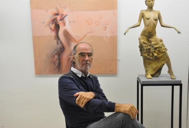 Kunstenaar Antoon Torrekens houdt open atelier