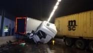 Beverentunnel volledig dicht na botsing tussen twee vrachtwagens, zware avondspits in Antwerpen