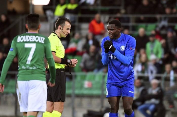 ONZE PUNTEN. AA Gent overwintert maar drie spelers stelden teleur tegen Saint-Etienne