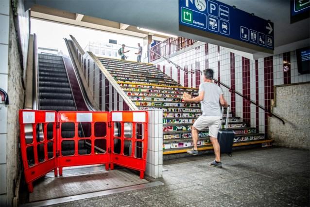 Tweeduizend storingen per jaar aan roltrappen en liften in stations