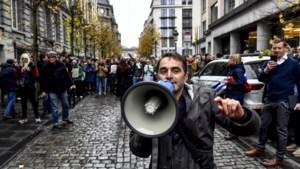Opnieuw actie tegen cultuurbesparingen: enkele honderden betogers in Brussel