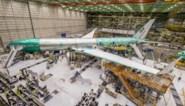 Romp van Boeing 777X barst tijdens stresstest