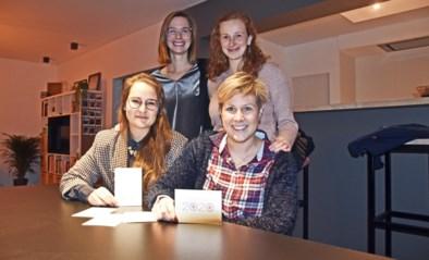 Isabel (29) zamelt samen met vriendinnen geld in met 'Tetjes for life'