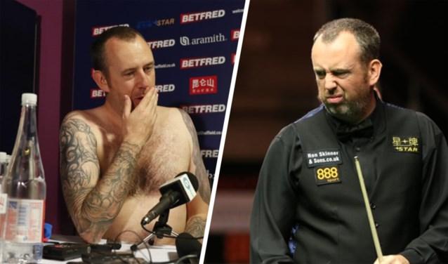 Wereldkampioen en naakt op persconferentie in 2018, grote afkeer in 2019: snookertopper doet wenkbrauwen fronsen