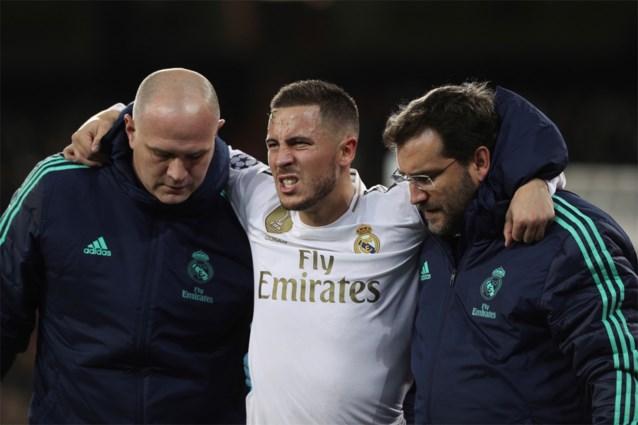Real Madrid-trainer heeft goed nieuws over de blessure van Eden Hazard
