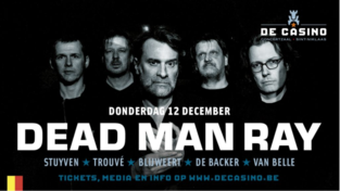 WIN 3 tickets voor DEAD MAN RAY