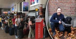 Politie pakt uit met primeur: honden moeten in luchthaven zelfmoordterroristen uit massa volk halen