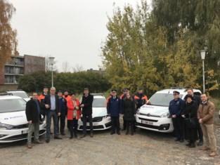 Politie Polder stelt nieuwe wagens voor, waarvan vier elektrische