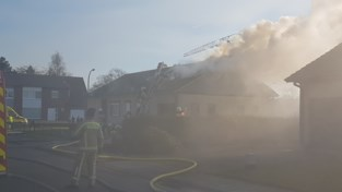 Huis onbewoonbaar na garagebrand