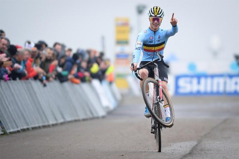 Thibau Nys is niet te stoppen: Europese kampioen bij de junioren wint ook in Kortrijk