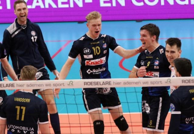 Roeselare en Aalst spelen net zoals vorig jaar bekerfinale volleybal