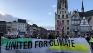 Klimaatbetogers blijven gaan