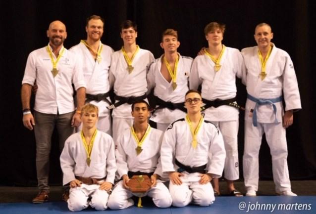 Herenploeg Judoclub Herzele kampioen
