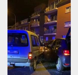 Zwaar verkeersongeval in werfzone Zeveneken-dorp