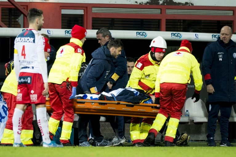 Slecht nieuws voor AA Gent: Brecht Dejaegere onder het mes na sleutelbeenbreuk