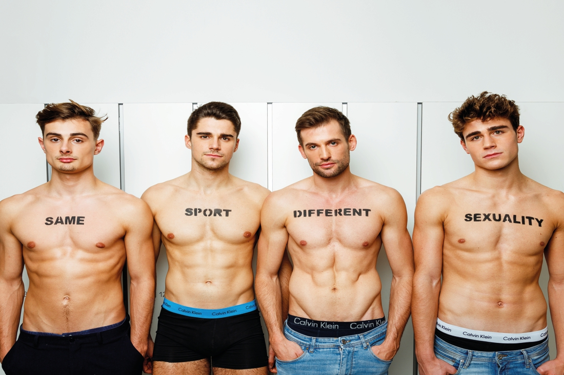 Ze houden alle vier van roeien, en eentje ook van jongens: online fotocampagne moet taboe rond holebi's in sportclubs doorbreken