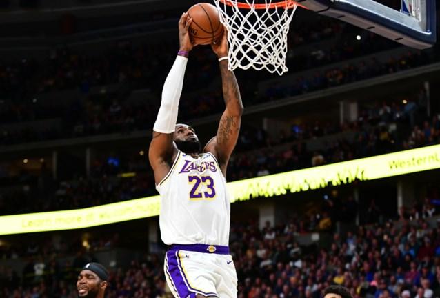 NBA. LA Lakers winnen de topper in Denver, Luka Doncic schittert opnieuw