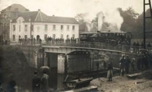 Expo Kanaal van Schipdonk in toegangspoort van Erfgoedcel in Tolpoortstraat