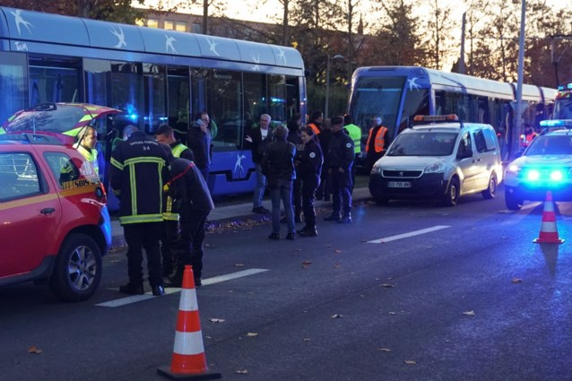 Veertigtal gewonden bij botsing tussen trams in Montpellier
