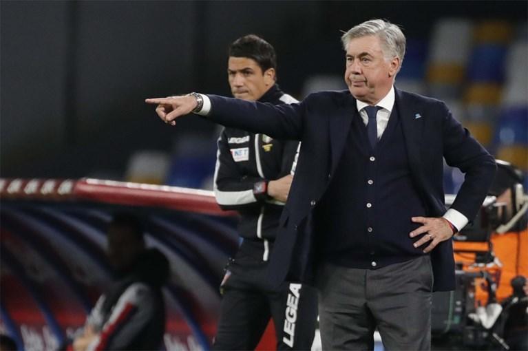 """Excentrieke voorzitter van Napoli probeert rust te doen weerkeren: """"Onvoorwaardelijk vertrouwen in Ancelotti"""""""