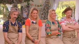 Deze vier bekende Vlamingen wagen zich aan kerststronken in feestaflevering 'Bake off'