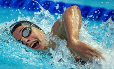 Valentine Dumont strandt met Belgisch record halve finales 100m vrije slag op het EK kortebaanzwemmen